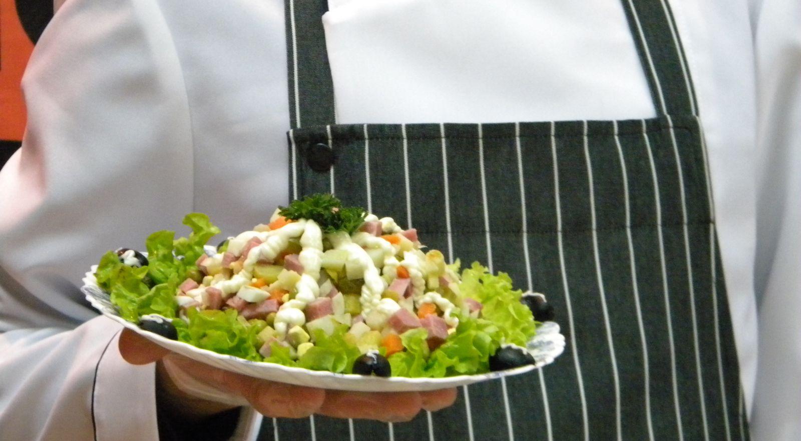 Салат «После салюта» – оригинальная закуска на праздничный стол