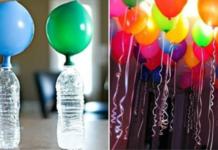 Как надуть летающие шарики без гелия в домашних условиях