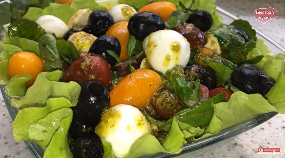 Лучшая закуска от переедания! Простой и вкусный диетический салат.