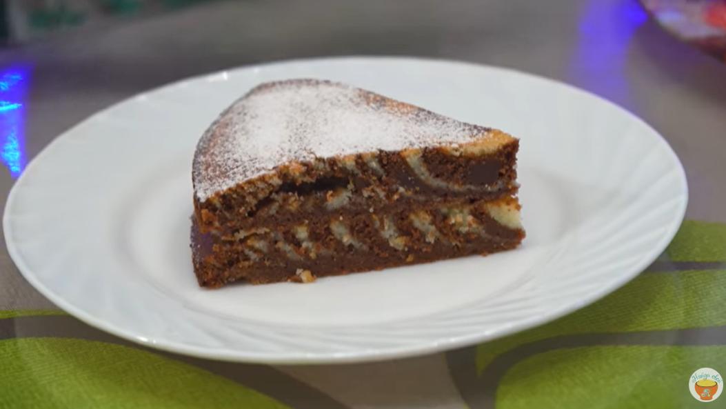 Праздничный торт «Зебра»