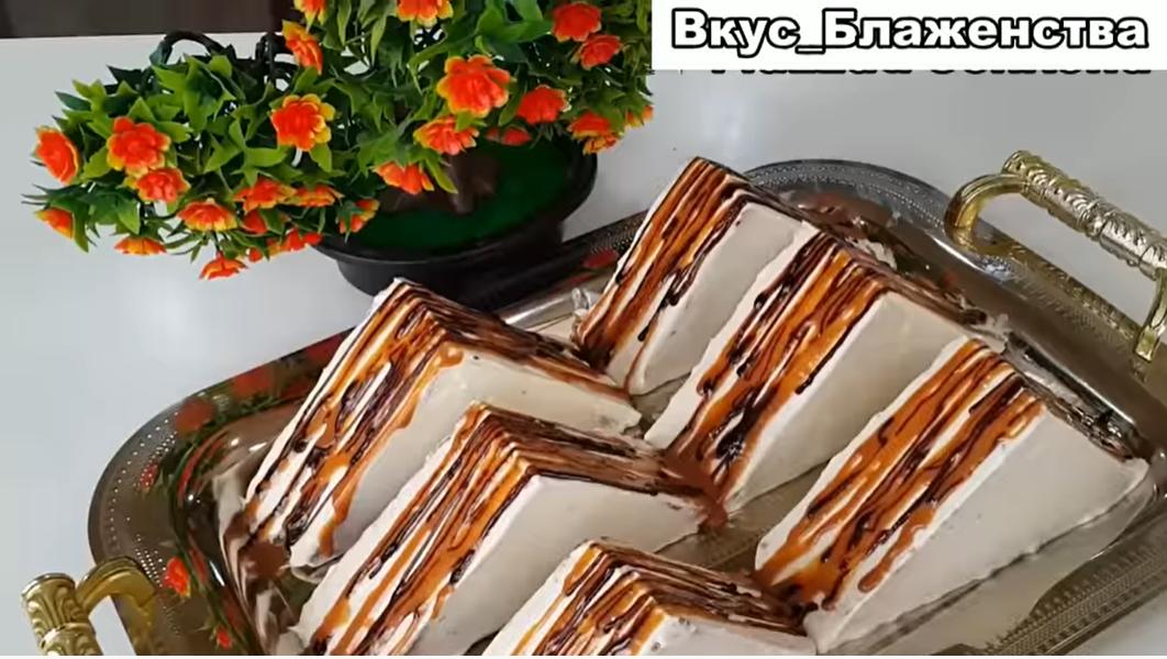 Пирожные на скорую руку «Блаженство»