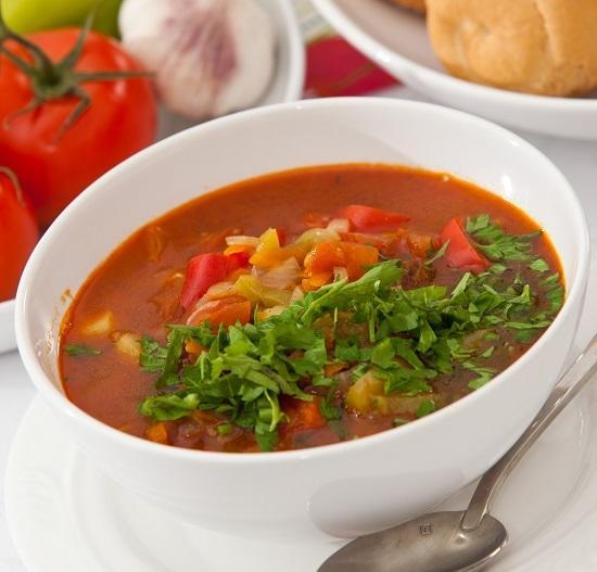 Густой суп с говядиной - согревает и насыщает