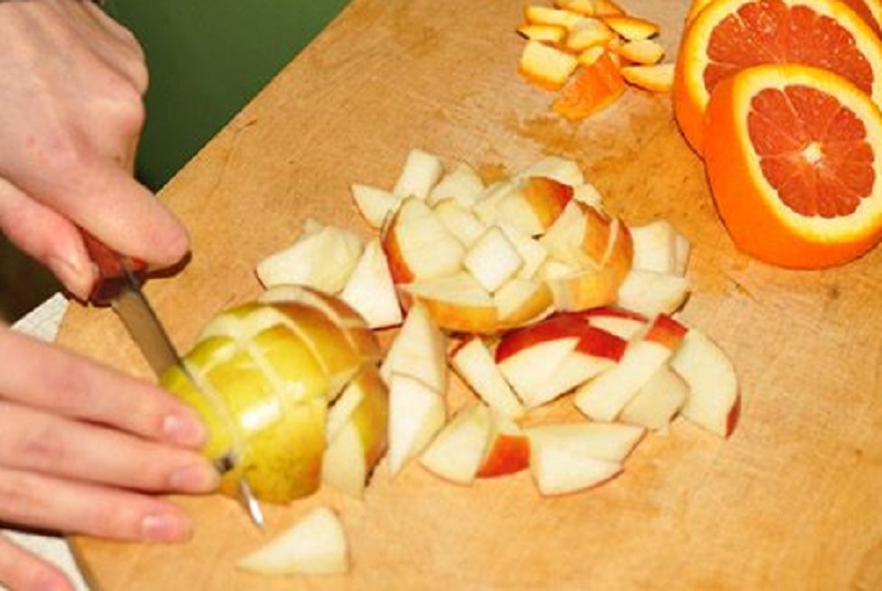 Искусство запекания утки с яблоками и апельсинами