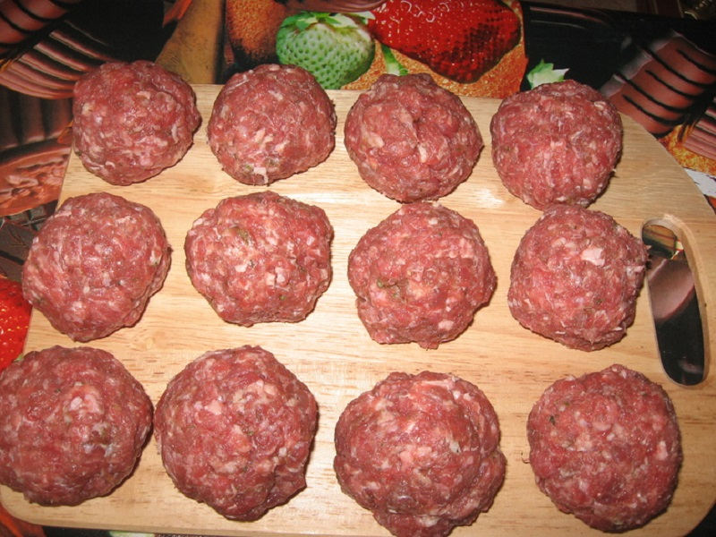 Рецепт отбивных на ужин из фарша