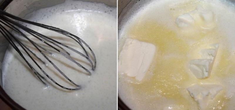 Ванильный заварной крем без муки и крахмала