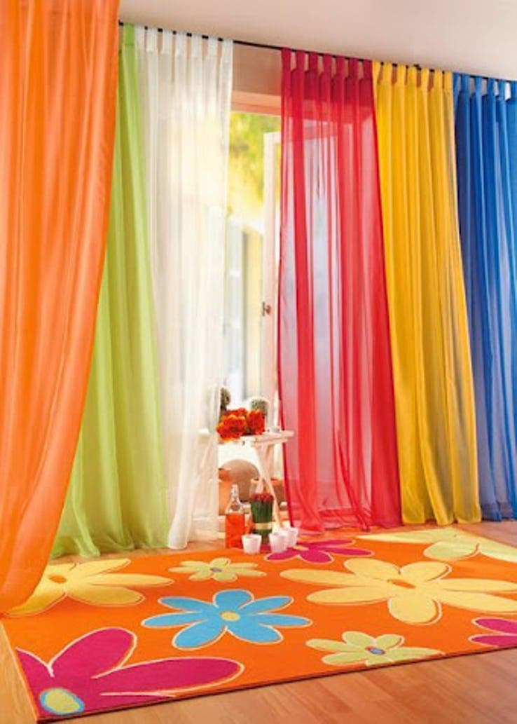 Вместо обычных штор: 20 удивительных идей декора окон