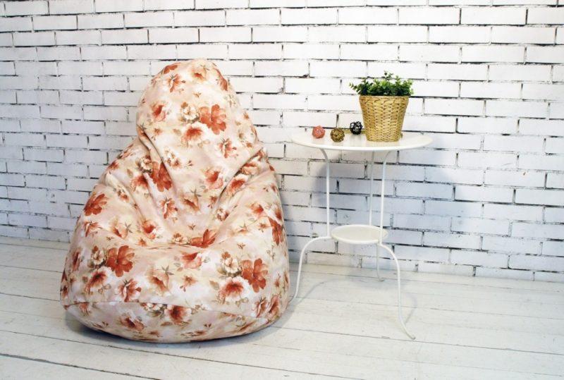 Удобное кресло-мешок своими руками всего за полчаса
