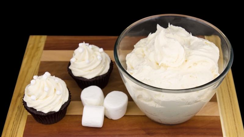 Рецепт зефирного крема без сахара