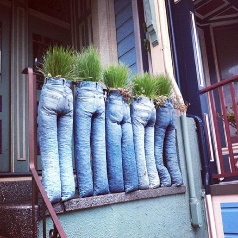Что шьют из старых джинсов любители хендмейда