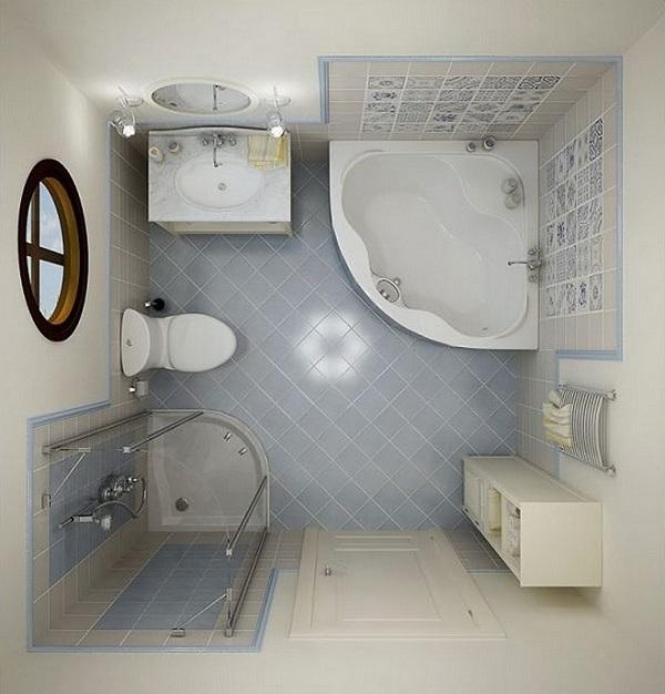Двадцать пять заповедей оформления маленькой ванной комнаты