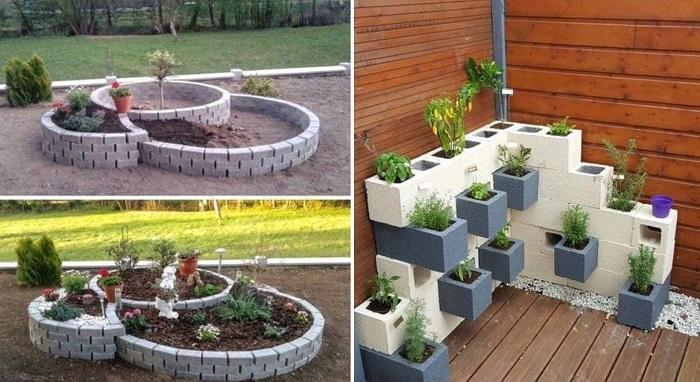 Почему стоит найти для сада двенадцать бетонных шлакоблоков