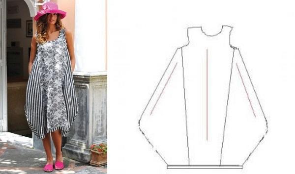 Выкройки и схемы одежды в стиле бохо