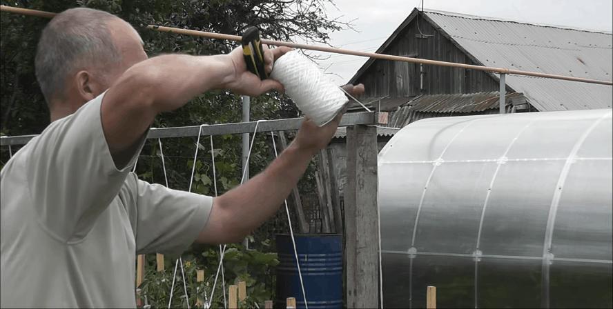 Шпалера под огурцы: практично, быстро и удобно