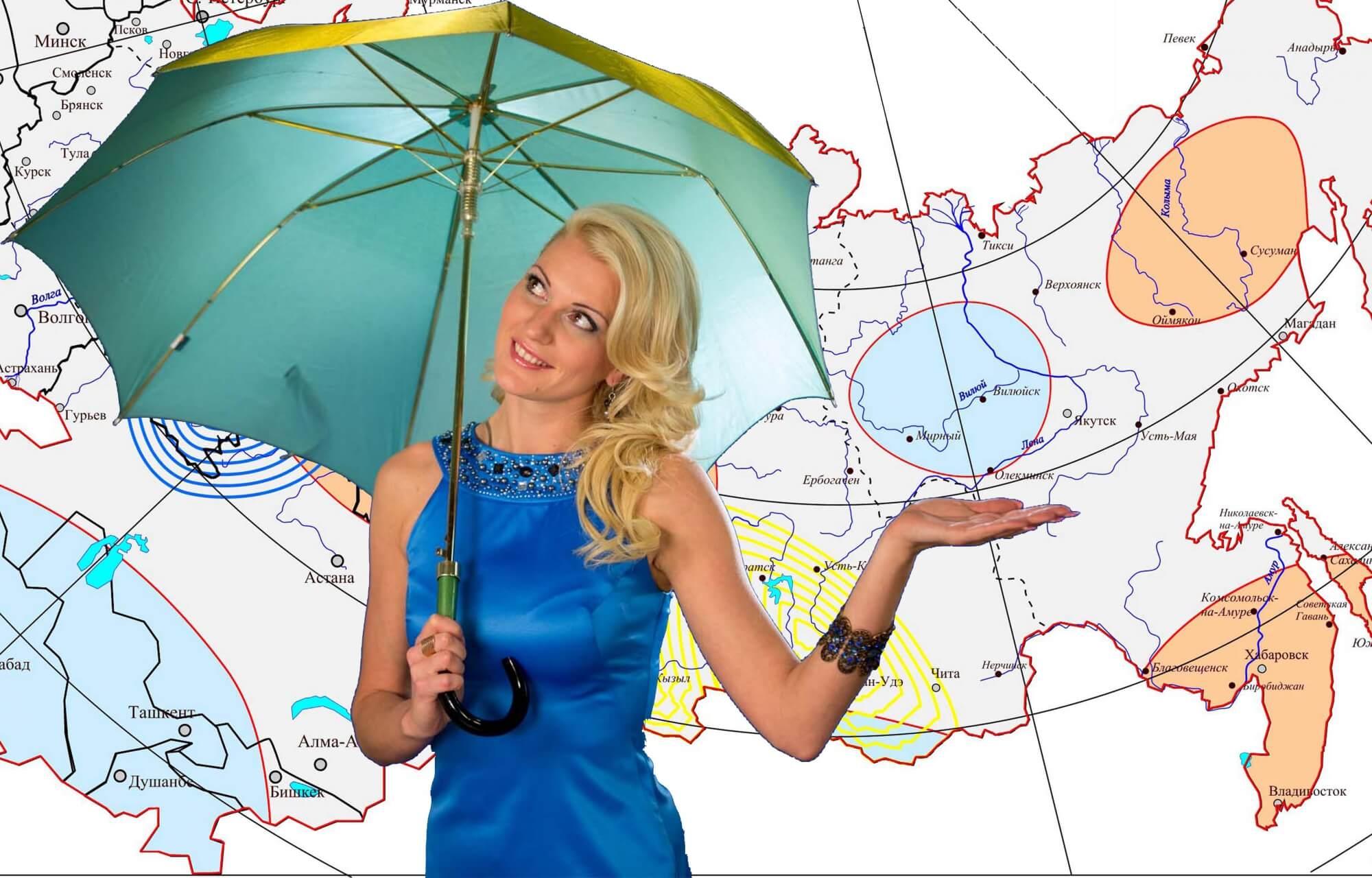 Особенности климата и прогноз погоды в Калининграде по сезонам: температура, осадки