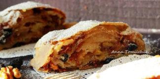 Записывайте самый удачный и несложный рецепт самого вкусного штруделя с яблоками!