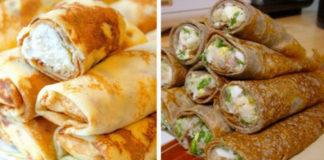 Главное в блинчиках — это начинка: 11 способов сделать обычное блюдо более праздничным!