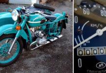 Дедушкин клад: мотоцикл «Урал» 1981 года с пробегом всего 5 км.