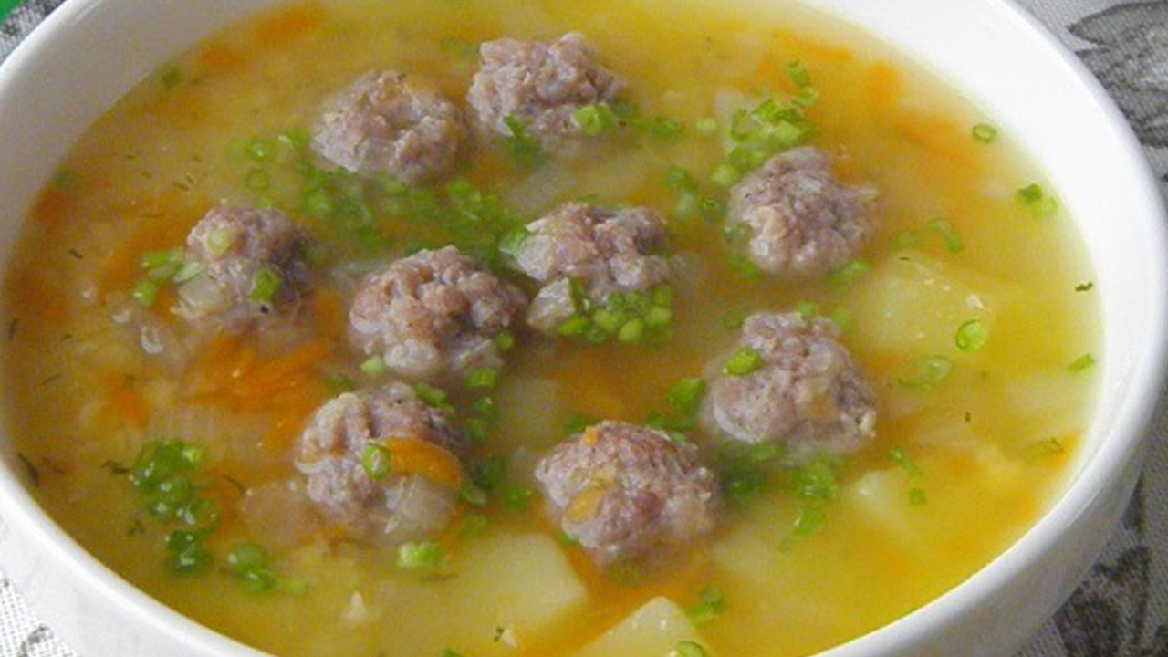 суп с фрикадельками оригинальные рецепты
