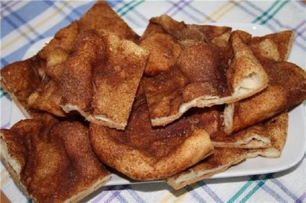 Блюдо испанских евреев, обалденно вкусное! Хрустящая сахарная лепешка