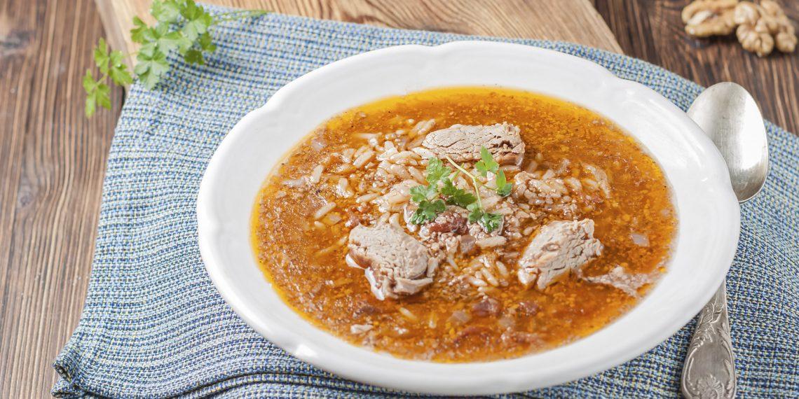 Как приготовить настоящий суп харчо