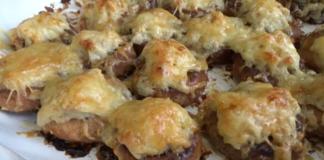 Запеканка «Мясо на бубликах»