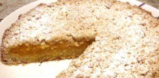 Пирог из тыквы и яблок