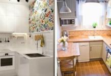 17 гениальных решений для маленькой кухни