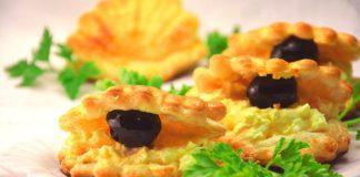 Праздничный салат-закуска «Устрица»