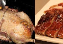 Утка — королева стола! Правильный рецепт ее приготовления с яблоками.