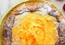 Слоеная ватрушка с творогом и медом