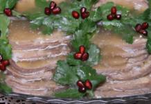 Заливной говяжий язык без желатина – простой и быстрый рецепт