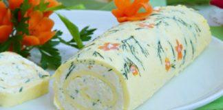 Восхитительный рулет «Белоснежка»: вкусное, нарядное и быстрое блюдо для особых случаев!