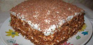 Восхитительный торт «Мечта жизни»: очень простой рецепт