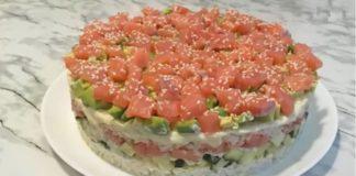 """Салат """"ленивые суши"""" - идеальный рецепт для тех, кто любит суши, но не хочет их готовить"""