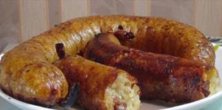 Рецепт картофельной колбаски в пир и в мир