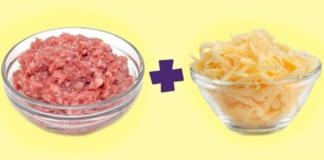 Зачем смешивать стакан сыра и стакан фарша
