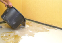 Как застелить теплый линолеум на кухне без применения электричества
