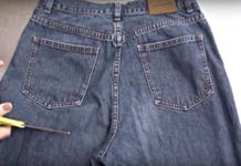 Что изготовить на радость хозяйке из старых джинсов