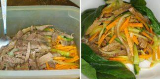 Рецептом салата «Северного» с языком и овощами делюсь скрепя сердце