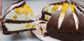 """Эффектный и оригинальный торт """"Килиманджаро"""""""