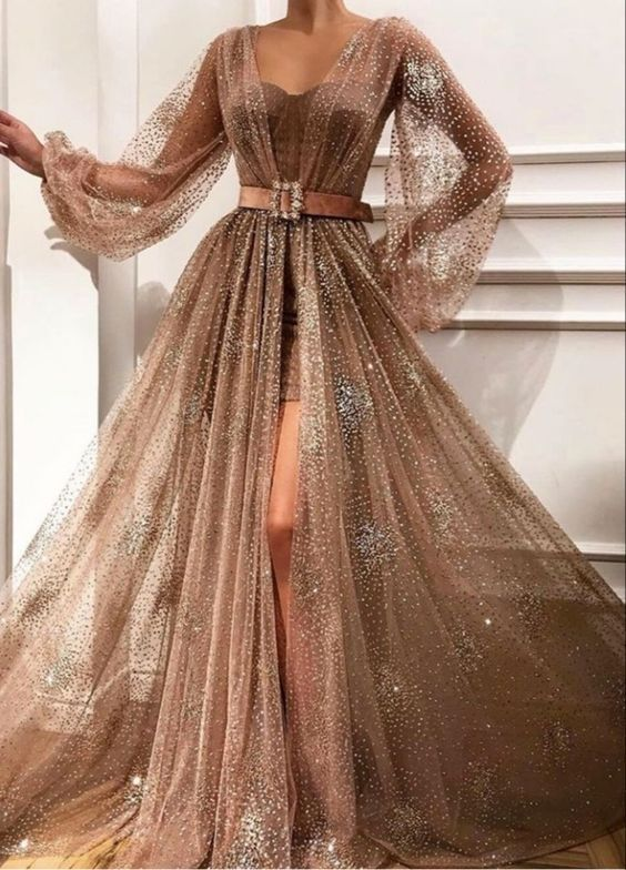 Пышные вечерние платья. Подборка интересных фасонов.