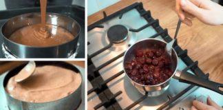 Как приготовить торт «Черный лес» из постных ингредиентов