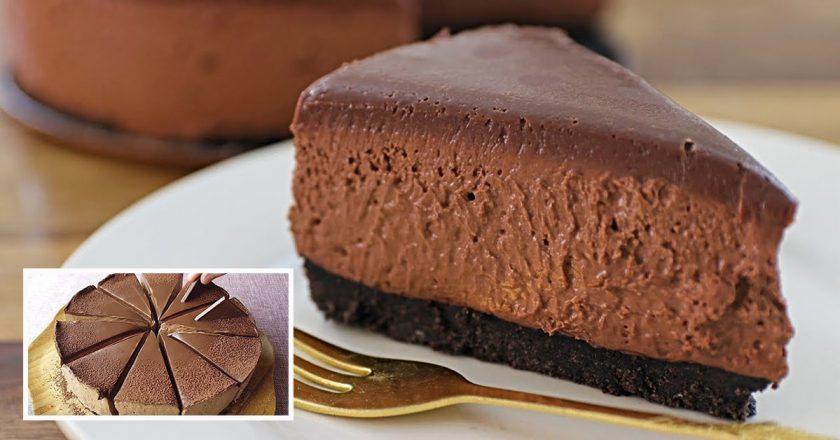Шоколадный чизкейк: готовим вкусный десерт без выпечки