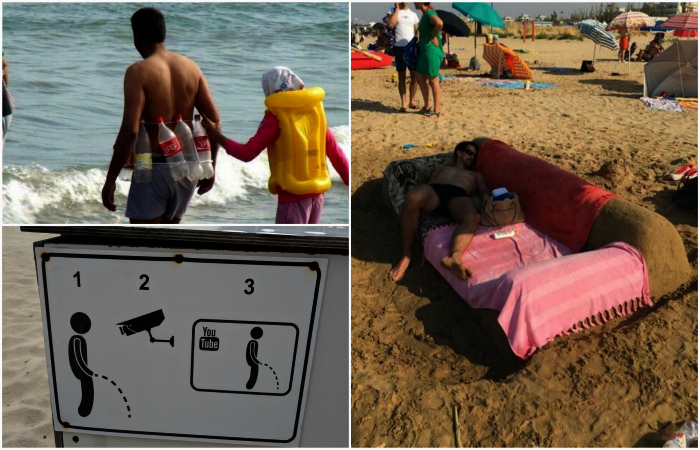 17 уморительных ситуаций, которые удалось запечатлеть на пляжах разных уголков мира