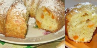 Рецепт царского кекса с курагой