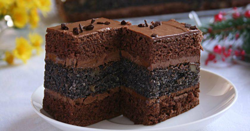 Отменный рецепт шоколадного торта с нежным сливочным кремом