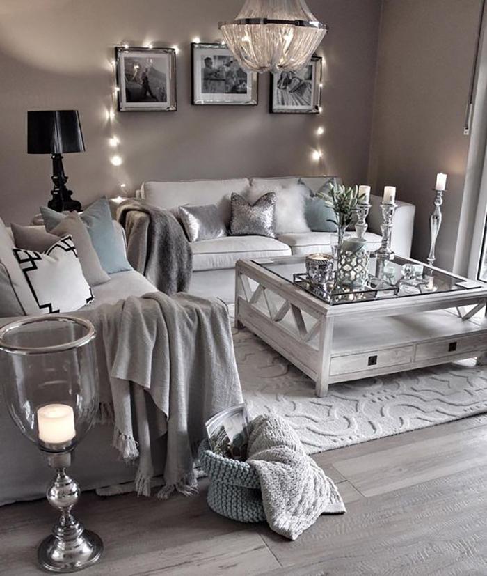 Как оформить гостиную в пастельных тонах