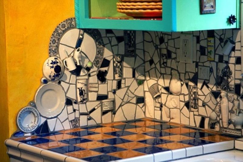 Куда пристроить остатки кафельной плитки