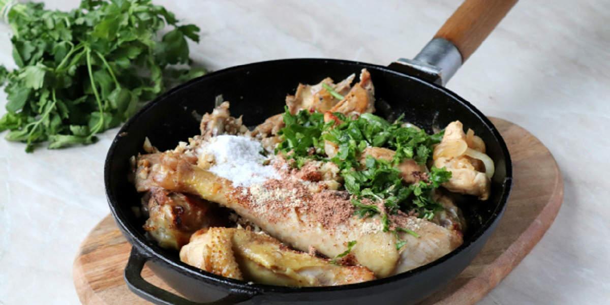 Как приготовить настоящее грузинское блюдо — гурули из курицы