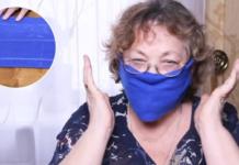 Изготовление маски без шитья по инструкции Ольги Папсуевой